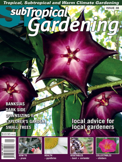 Multi Award Winning Gardening Magazine Publication For Warm Climate Zones.  The Magazine Covers All Aspects Of Ornamental And Edible Gardening, ...